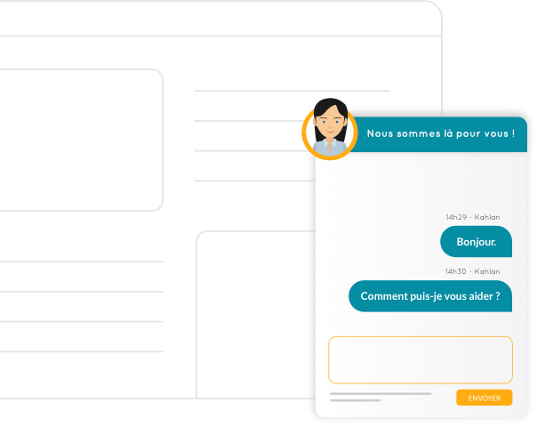 Smart Tchat Home Illu Communication Directe