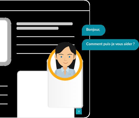 Smart Tchat Presentation Illustration Introduction